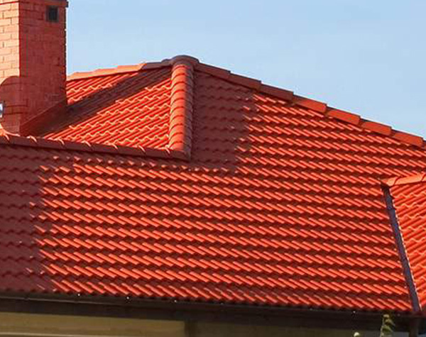 Painted Terracotta Roof in Melbourne
