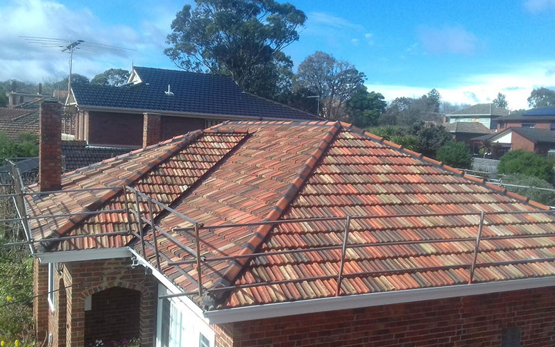 A Terracotta Roof Restoration by Vivify in Melbourne