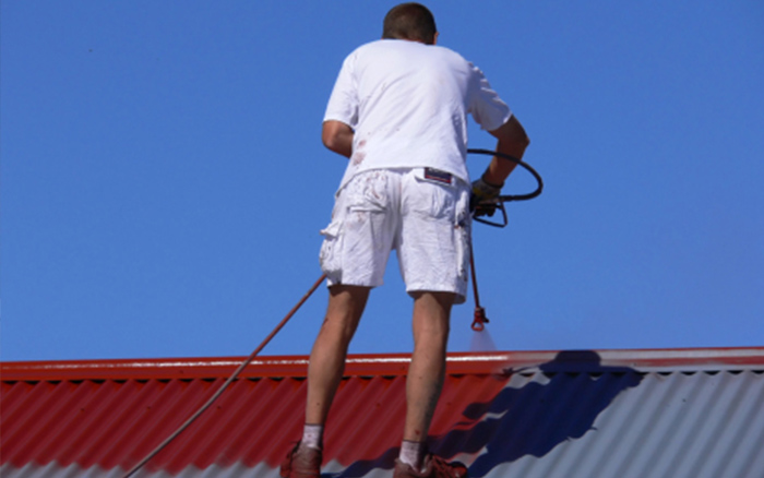 Colorbond Roof Painting in Melbourne