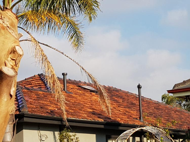 Completed Terracotta Roof Restoration