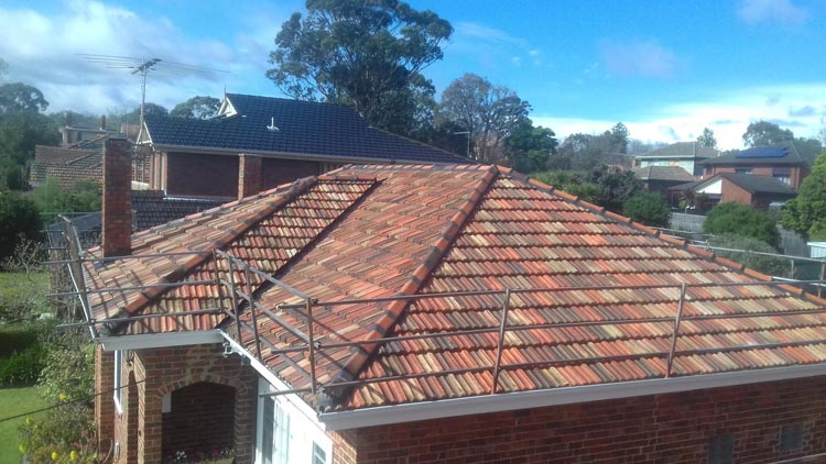 Melbourne Terracotta Roof Project
