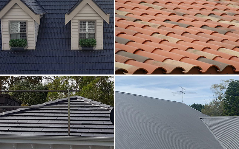 Repair Different Types of Roofing