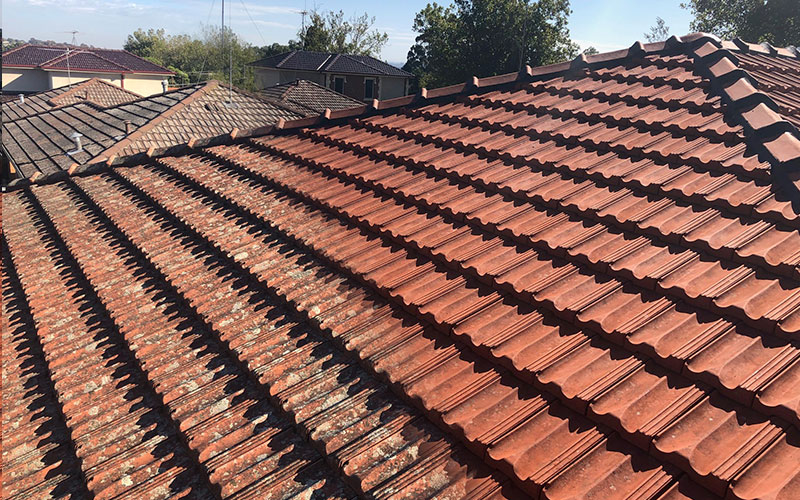 roof restoration before selling home