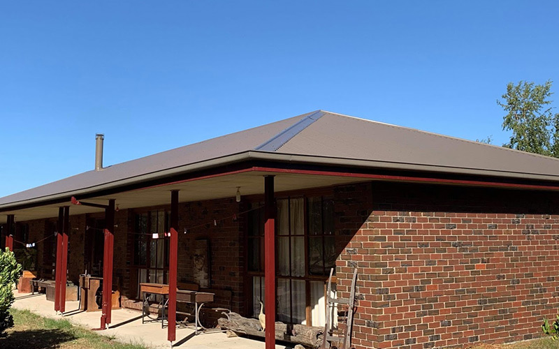 Repainted Colorbond Roof in Melbourne