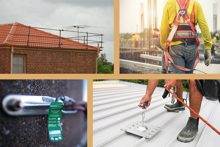 House Roof Painting Safety Equipment