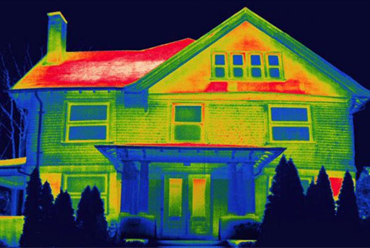 Energy & Heat House Roof