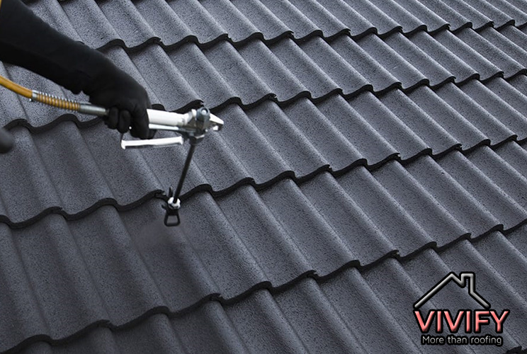 Roof Painting or Coating Vivify Roofing