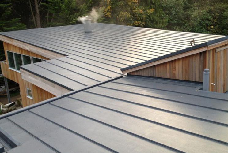 Flat Metal Roof Restoration