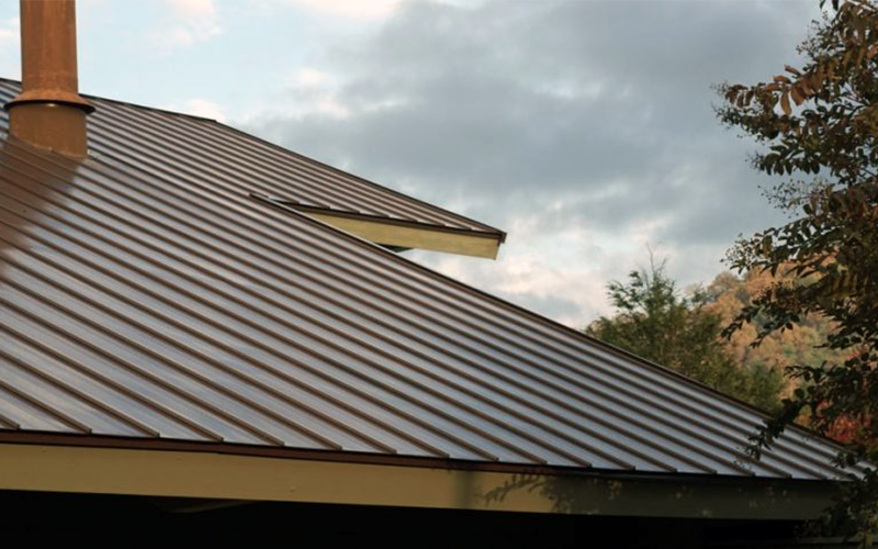 Colorbond Flat Metal Roof