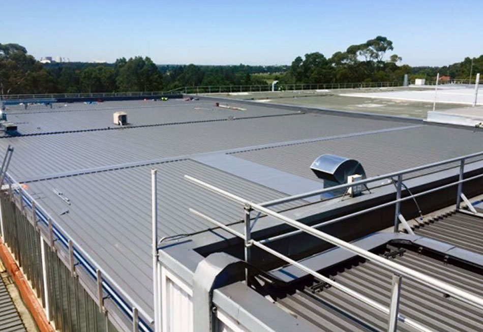 Flat Metal Roofing Melbourne Featured Image