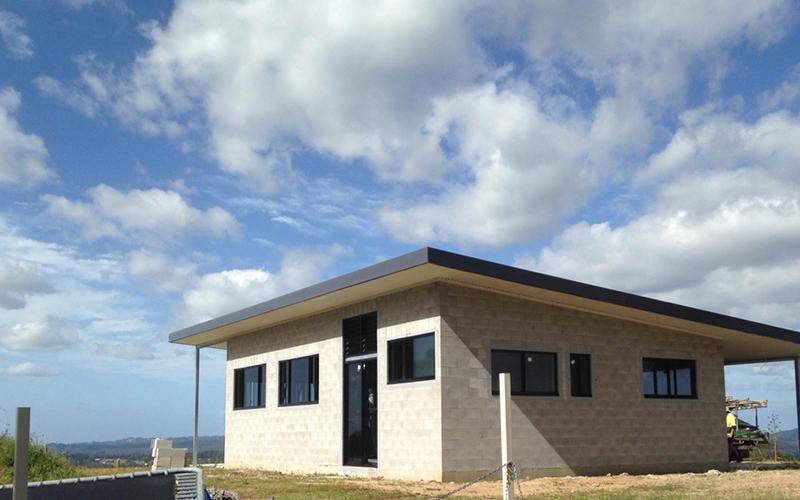 Skillion Flat Roof