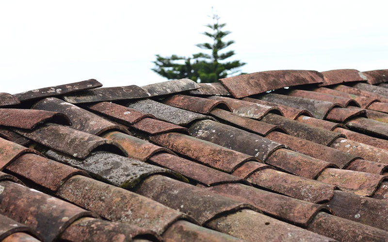 Old And Worn Out Roof