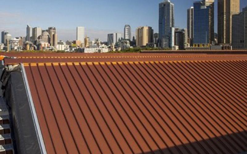 Copper Metal Roof Colour