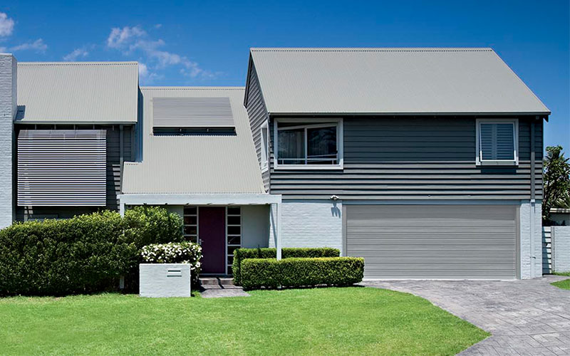 Silver - Grey Metal Roof Colour